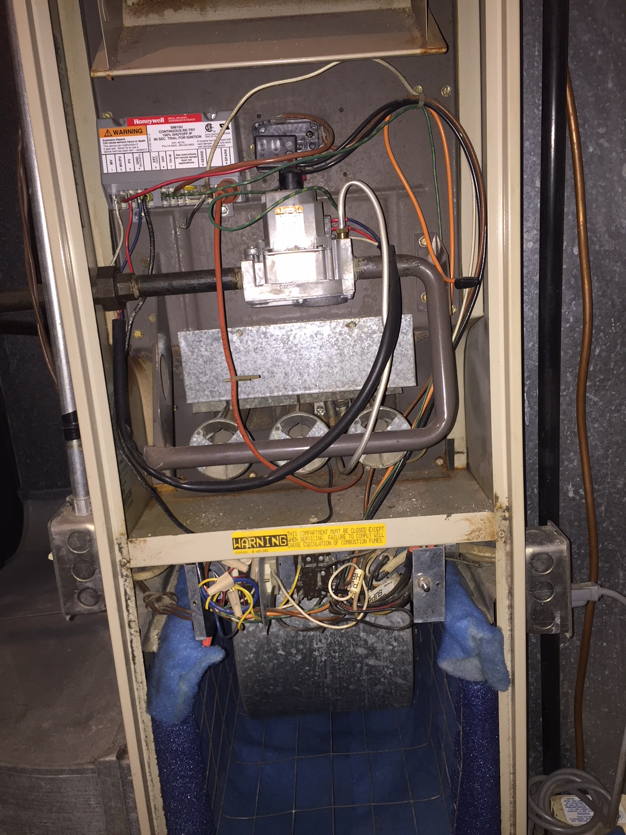 Lennox Gas Furnace Dead     Heating Help  The Wall