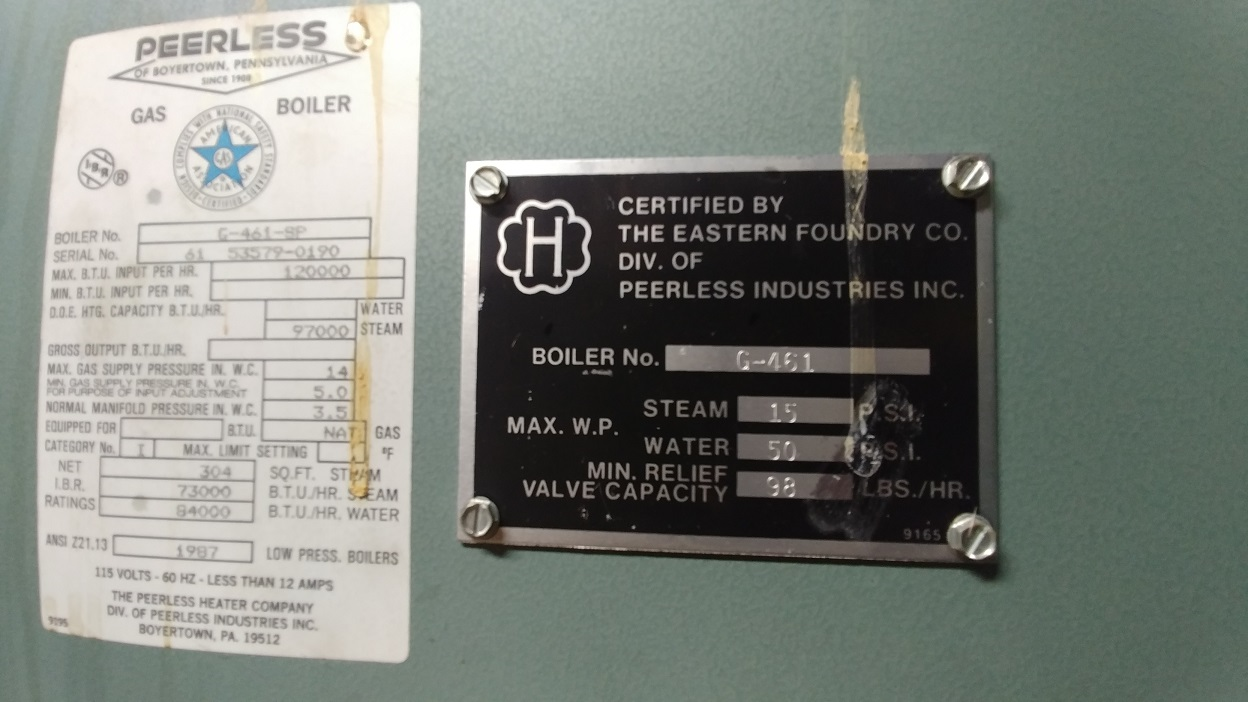 Steam boiler acting up after the summer - Help! — Heating Help: The Wall