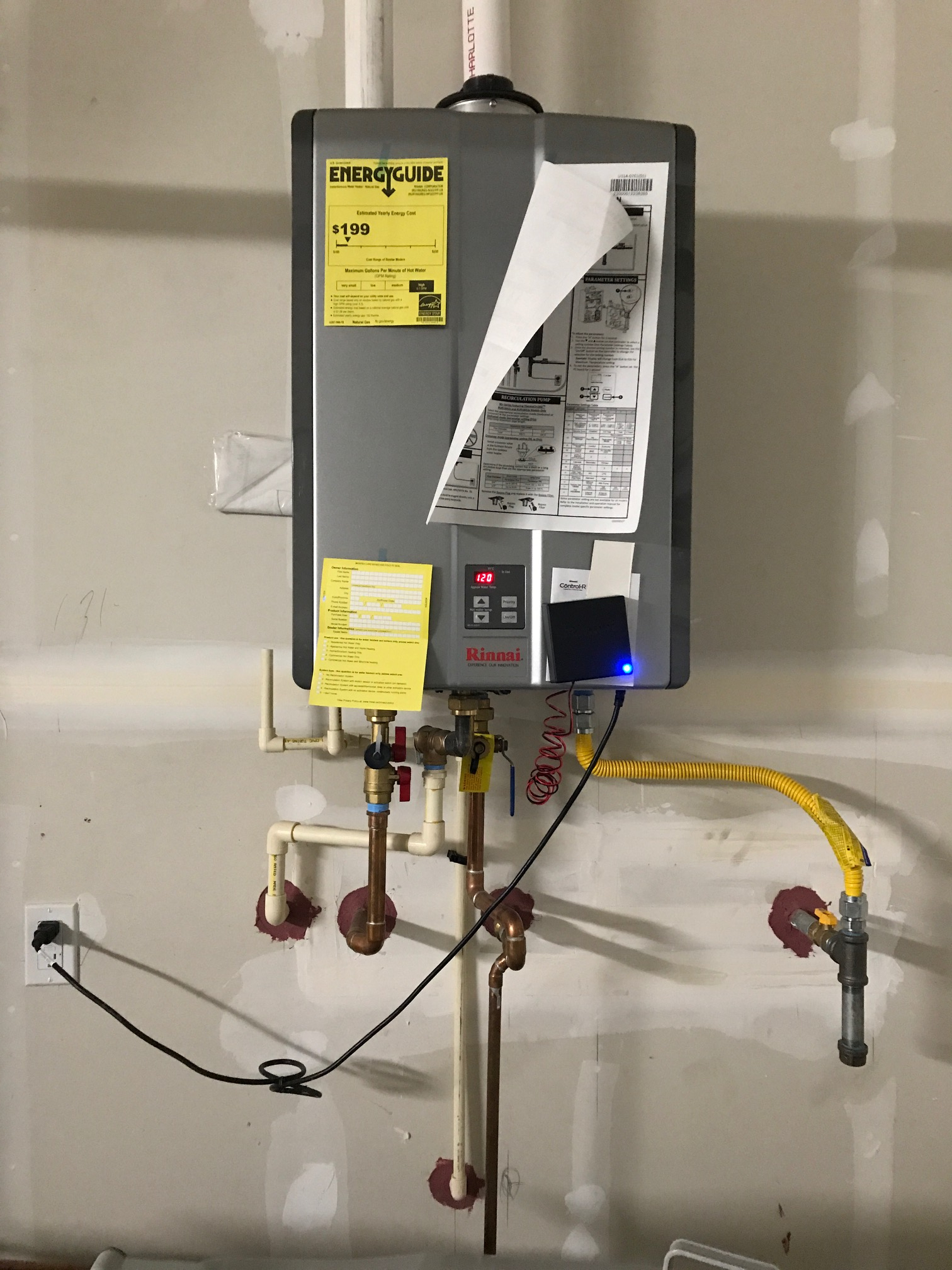 Rinnai Tankless Water Heater Not Providing Hot Water