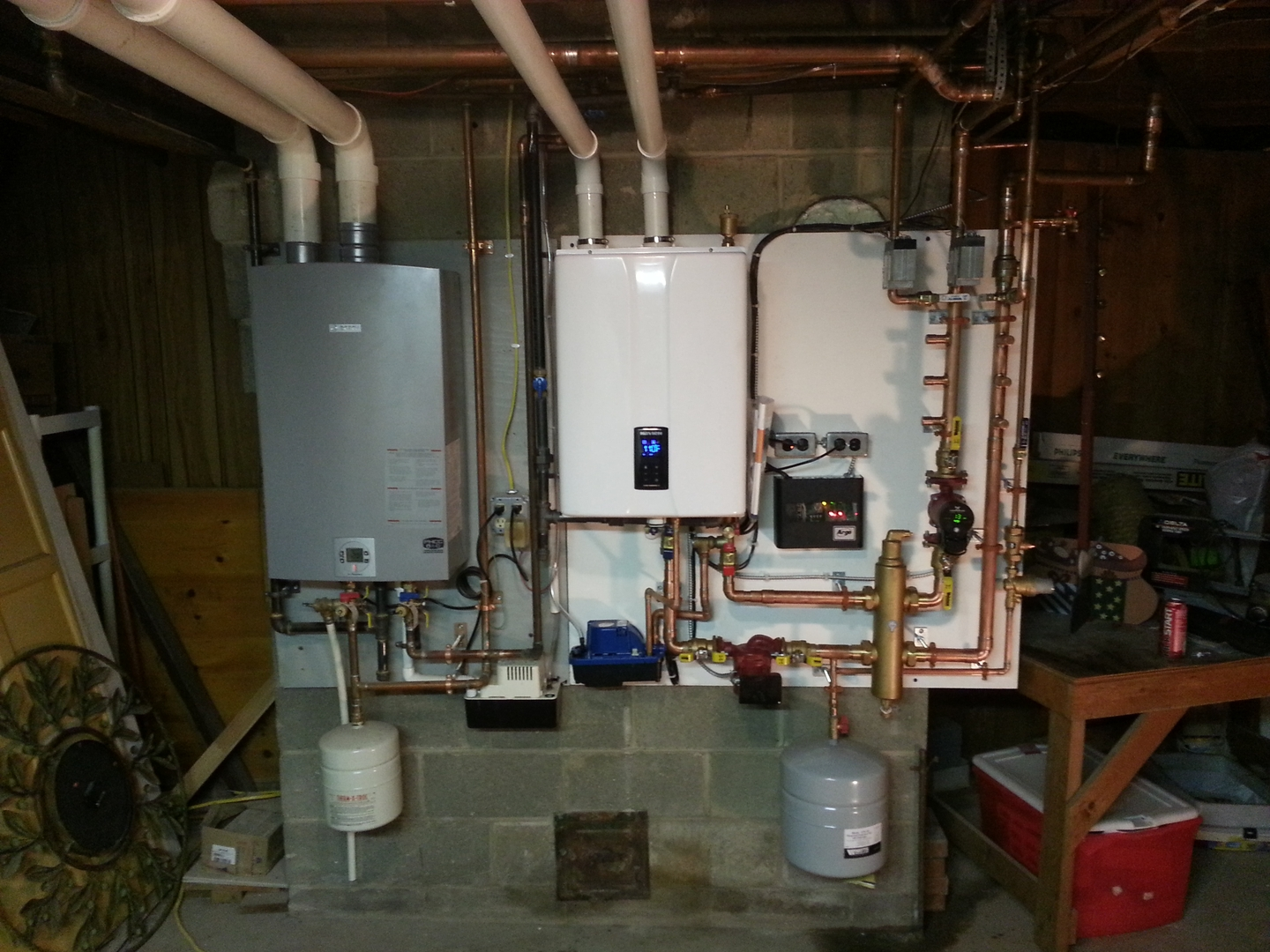 Advice on new boiler install — Heating Help: The Wall