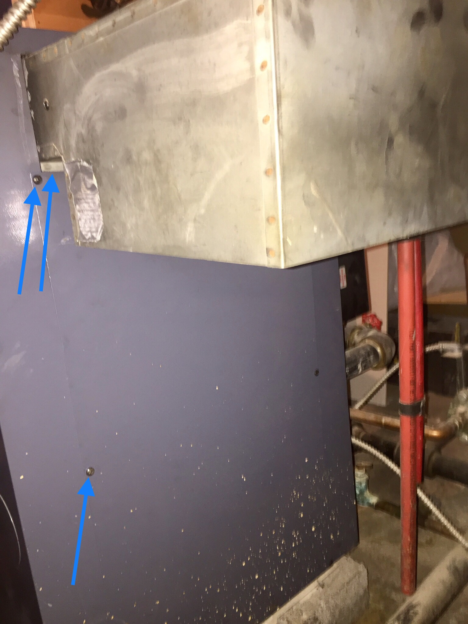 Potential problem with Weil-Mclain boiler (with photos) — Heating ...
