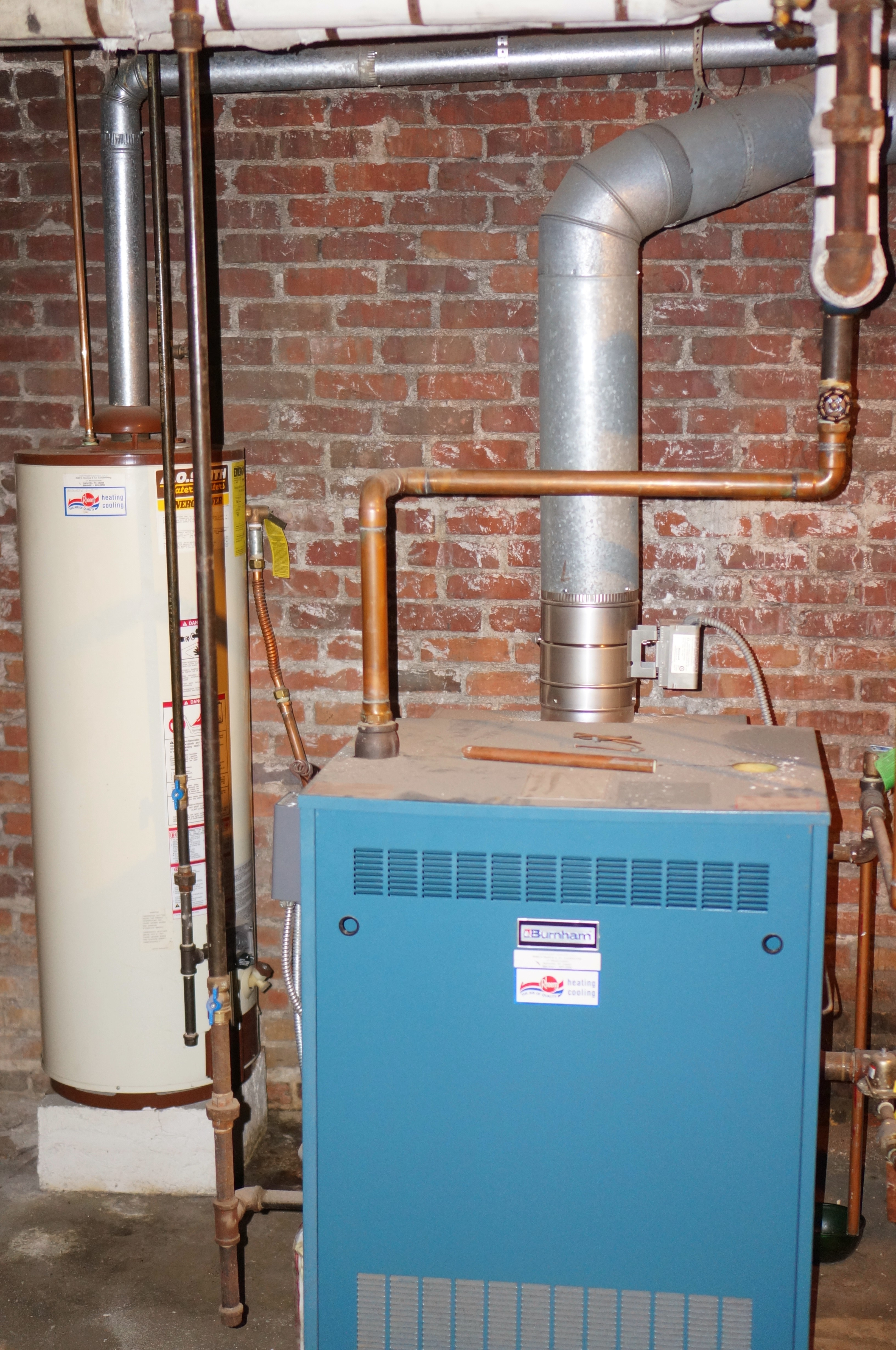 Modernize Old Boiler System — Heating Help: The Wall