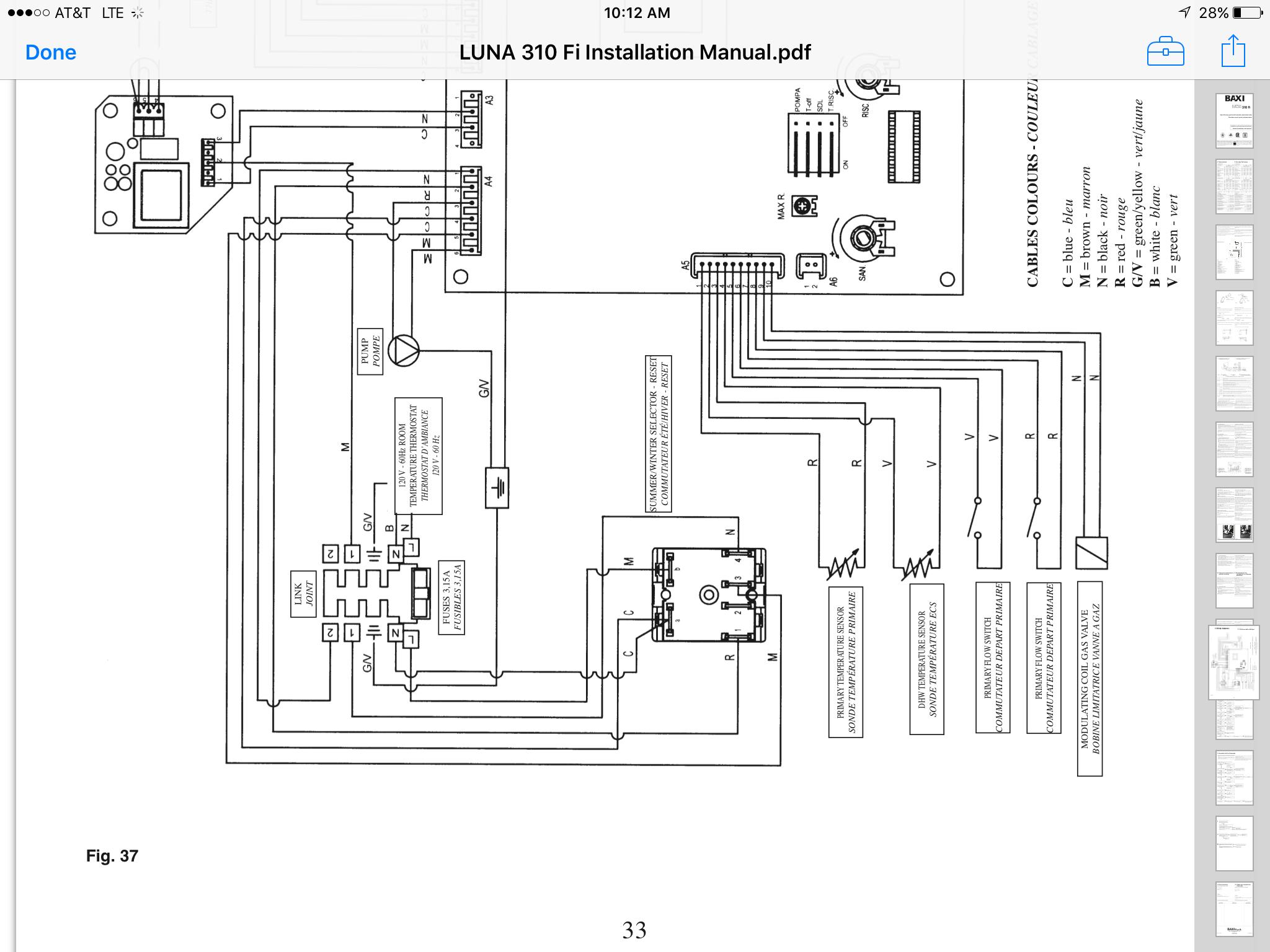 Baxi luna 310 — Heating Help: The Wall | Baxi Luna 3 Piping Diagram |  | Heating Help: The Wall