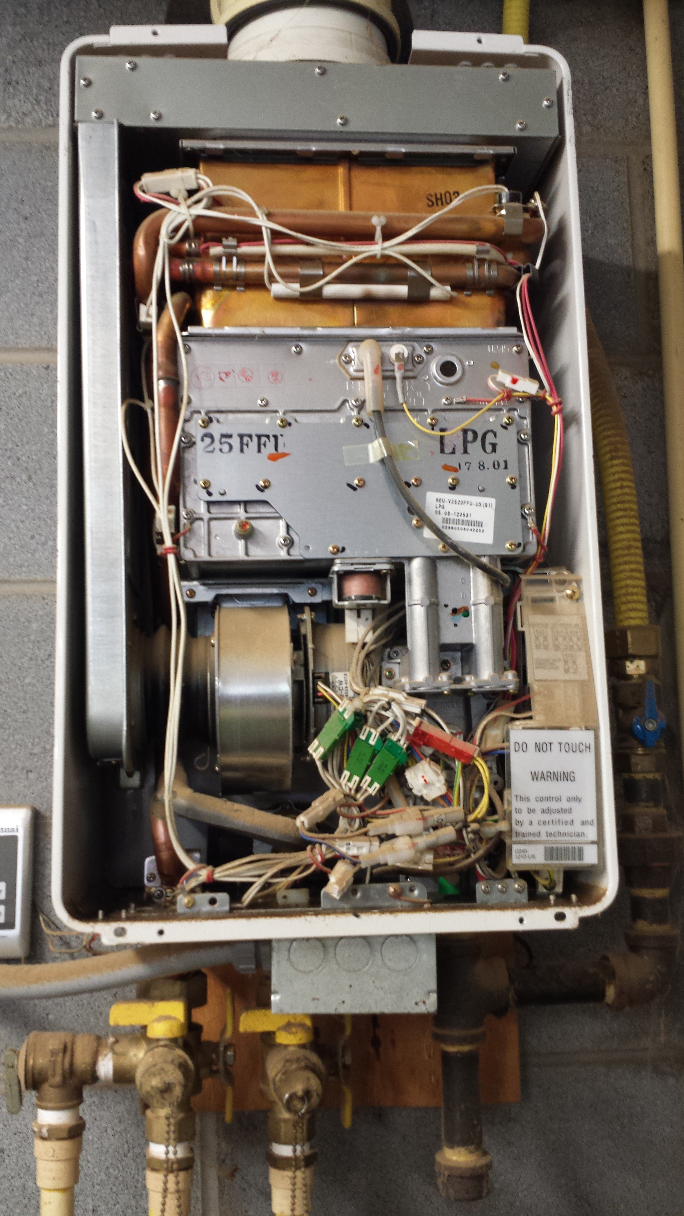 Rinnai R53 Water Heater Leaking  U2014 Heating Help  The Wall