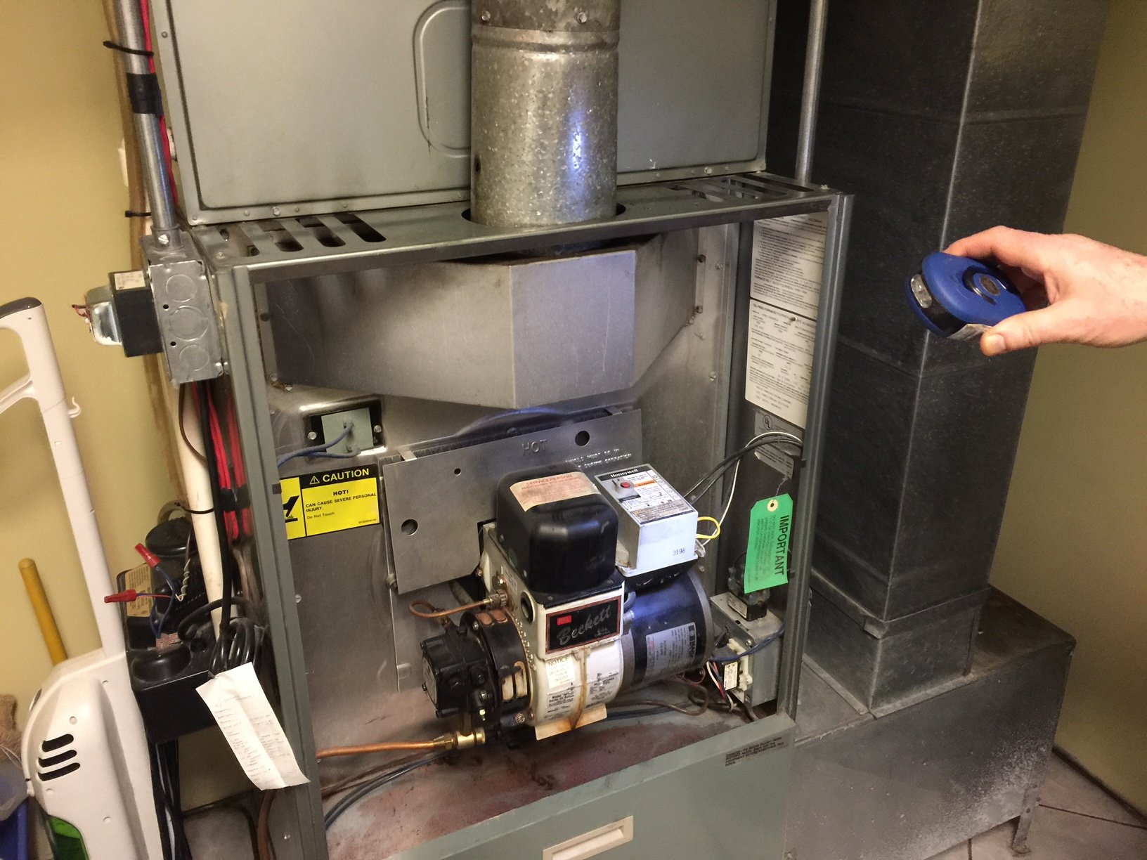 Sometimes Blower Does Not Turn on - Rheem Oil Forced Hot Air