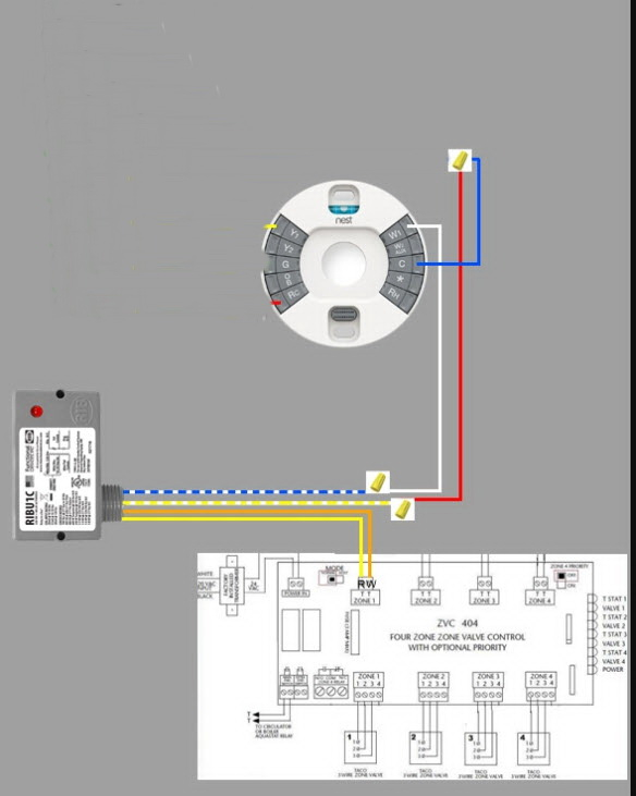 Nest Thermostat Wiring Diagram 2 Wire - Database