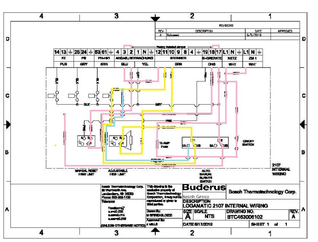 Admirable Buderus With Logamatic R 2107 Heating Help The Wall Wiring Cloud Brecesaoduqqnet