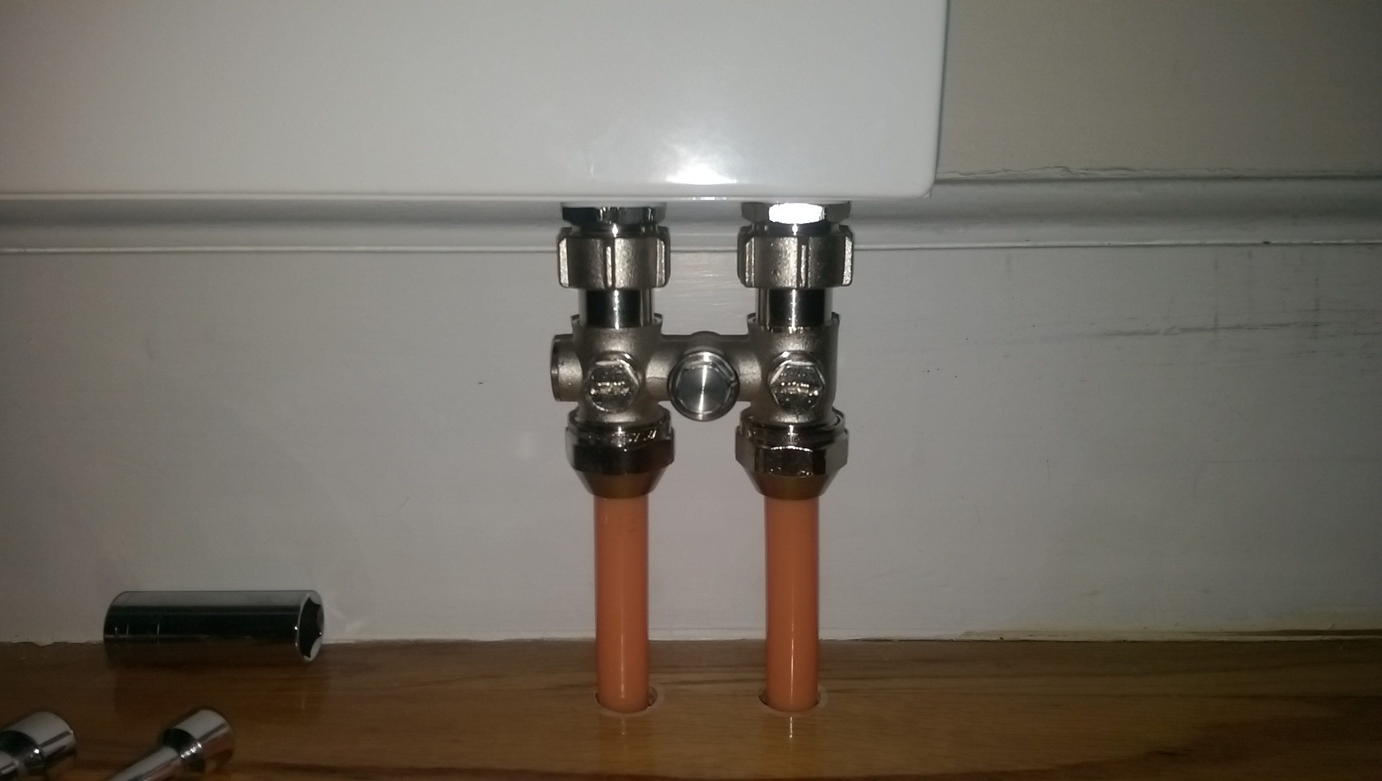 Monoflo system help / flow from both tees..? — Heating Help: The Wall