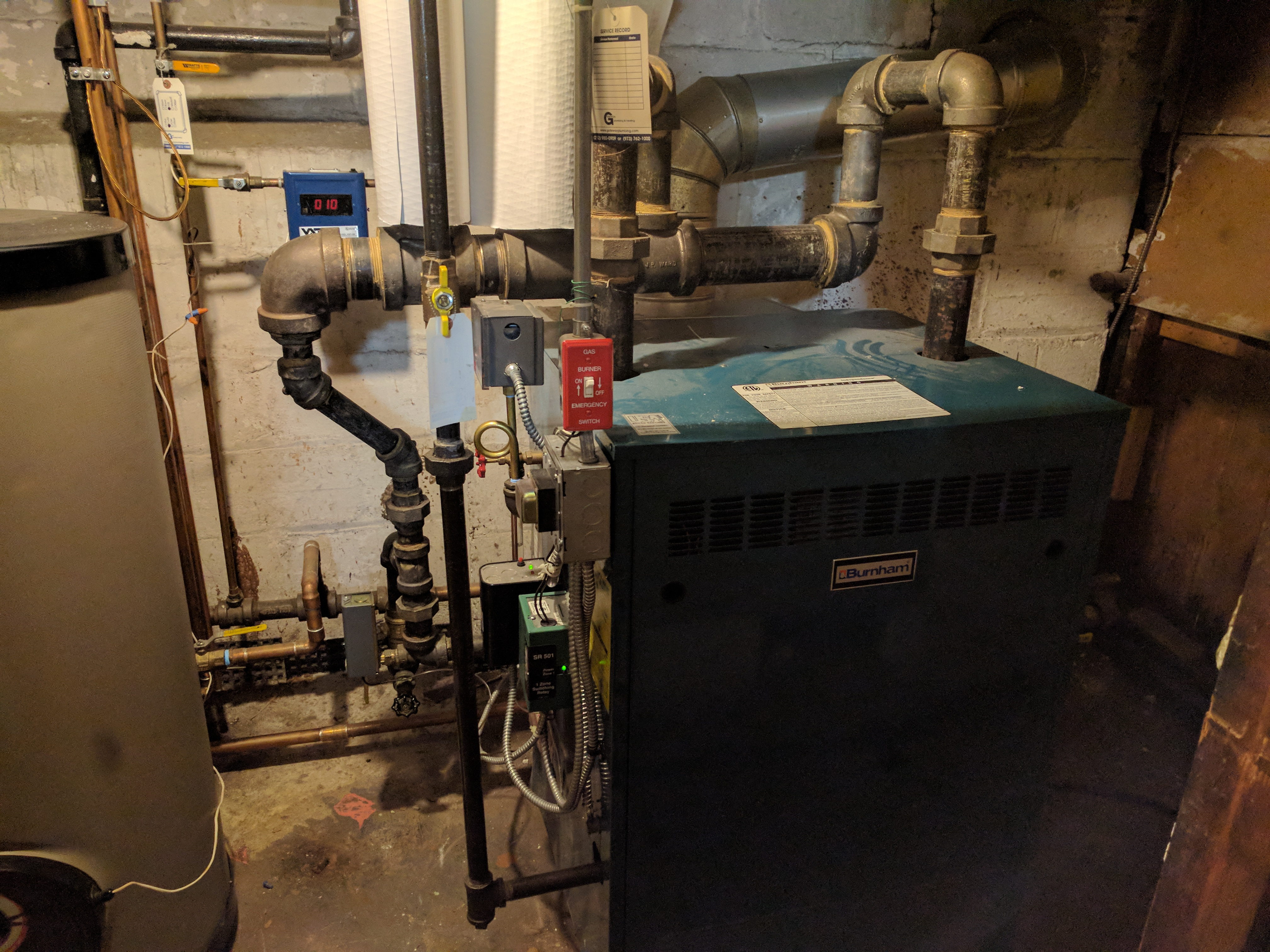 How Close To The Boiler Can You Put Insulation Heating