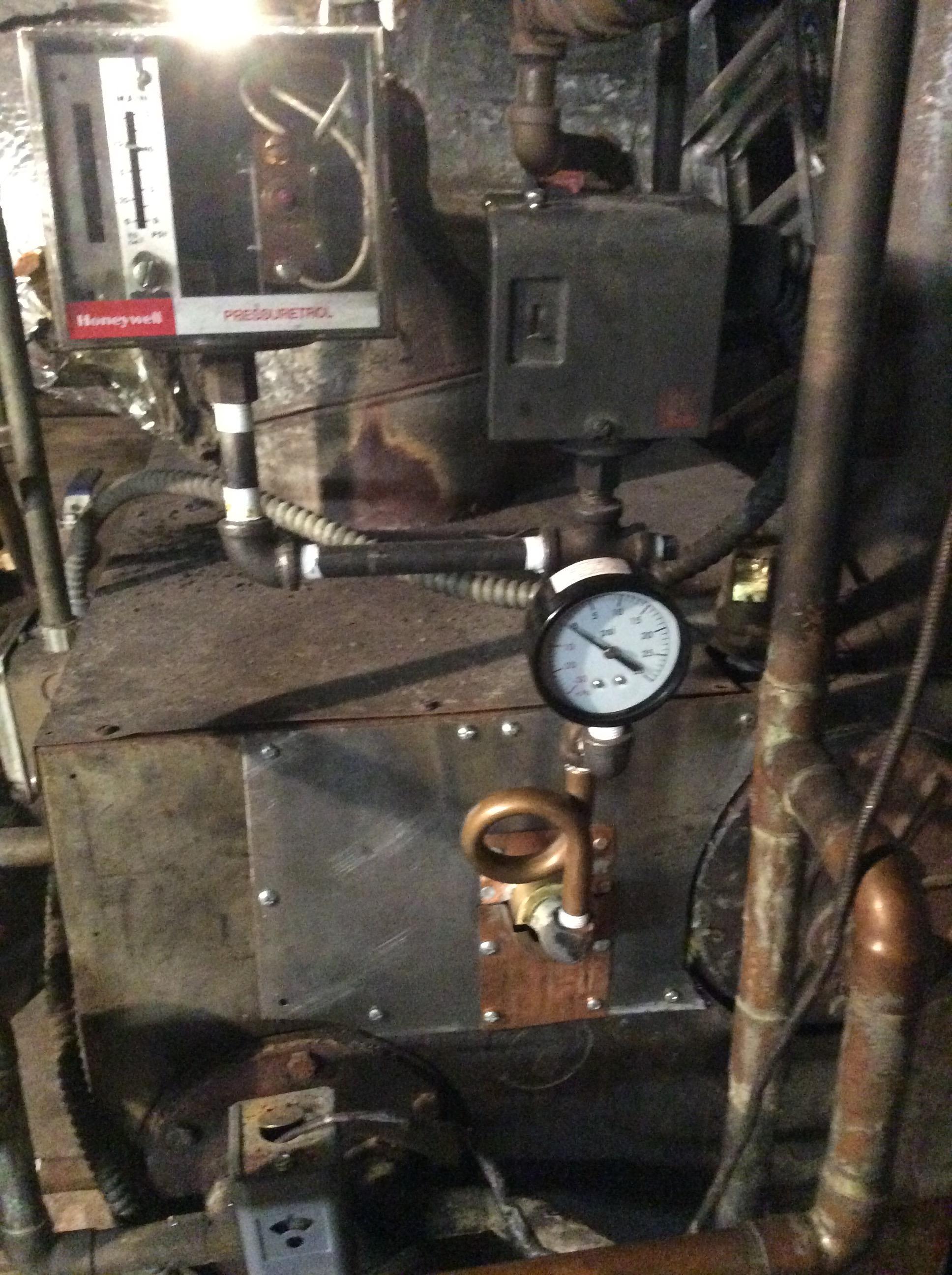 American Standard Ex 40cm Boiler Heating Help The Wall