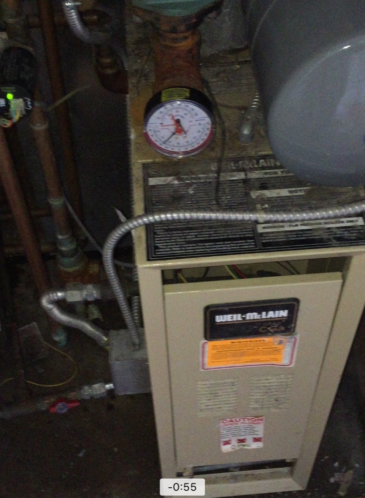 What could be preventing a heat boiler from circulating water ...