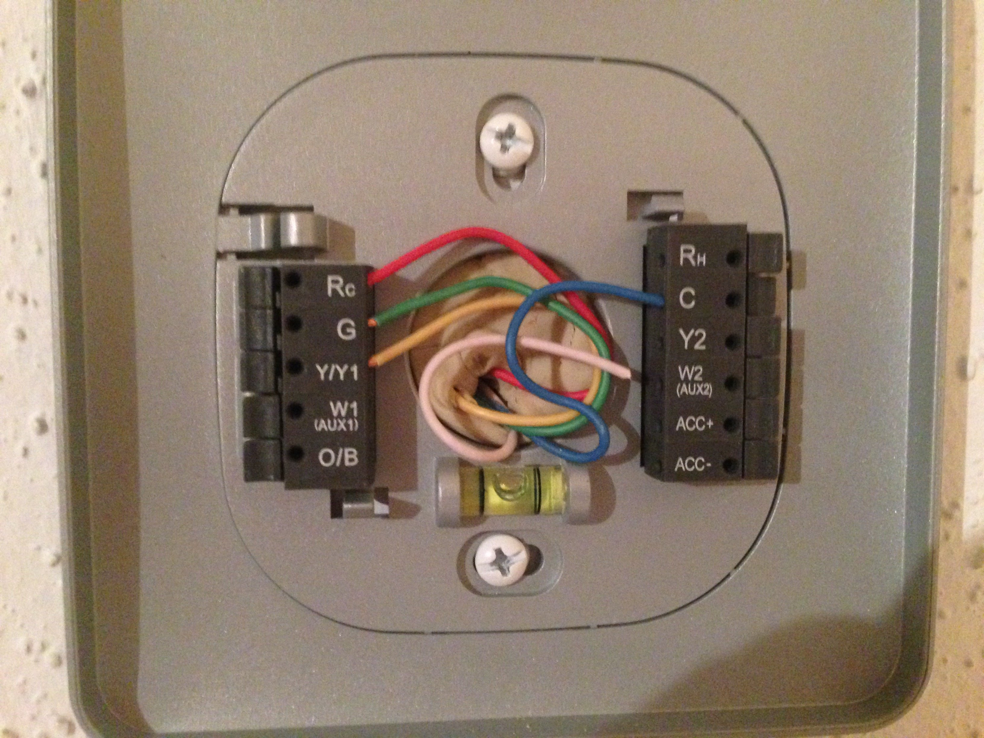 Wiring Diagram Together With Heat Pump Thermostat Wiring Color Code