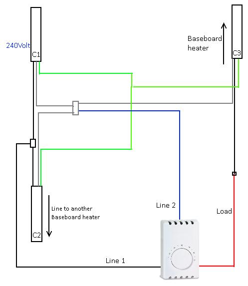 i am replacing a cadet listed thermostat 5c86 model c2002. Black Bedroom Furniture Sets. Home Design Ideas