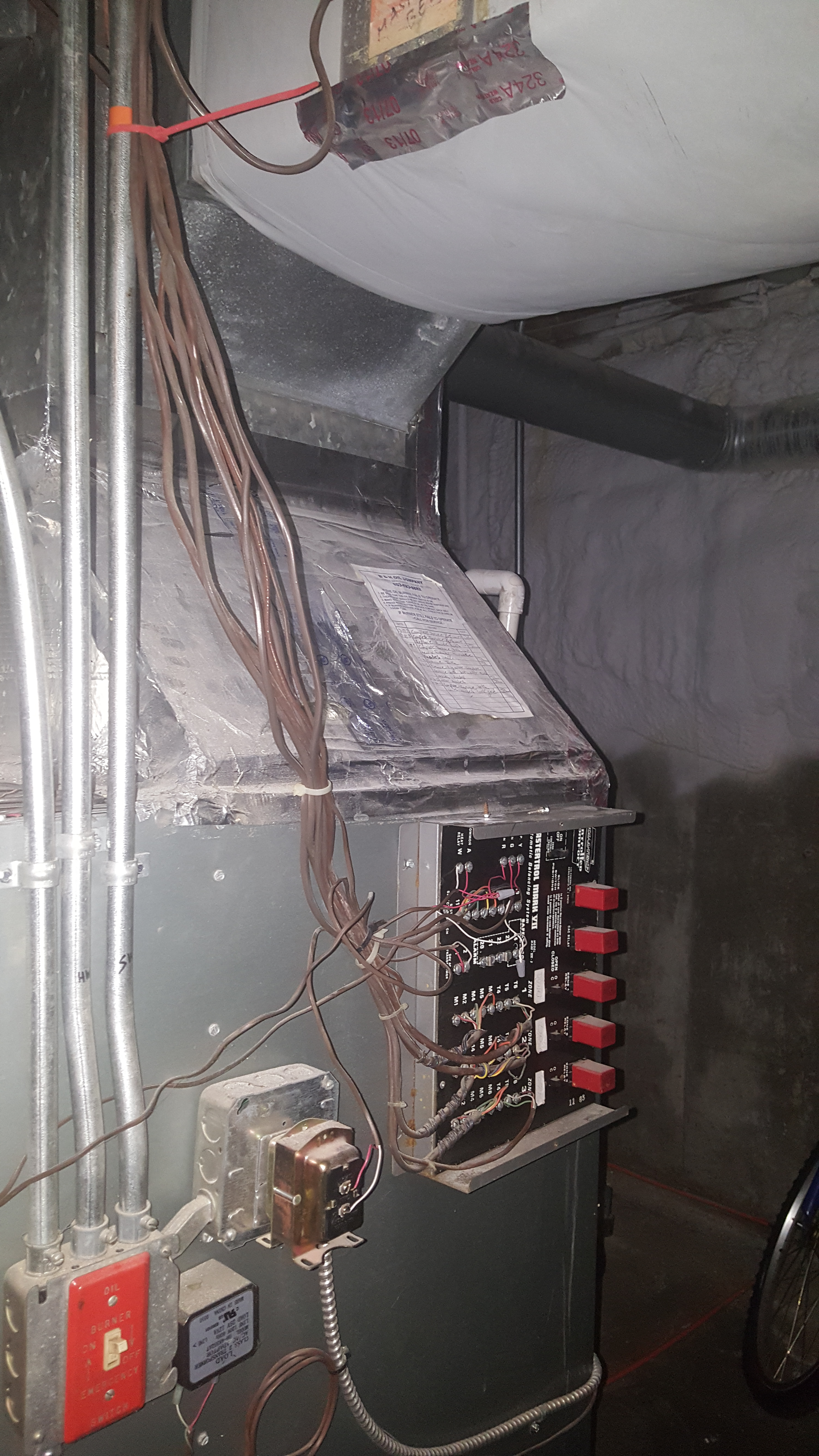 Wiring Honeywell HZ311 from a Trol-A-Temp Mastertrol Mark