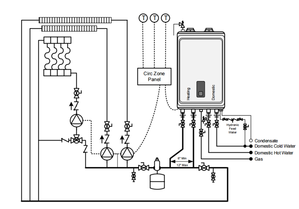 navien piping diagram looking for confirmation on a diy installation     heating help the  confirmation on a diy installation