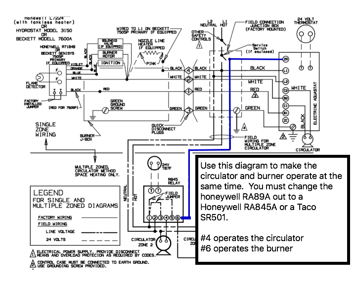 diagram wiring diagram honeywell ra89a full version hd