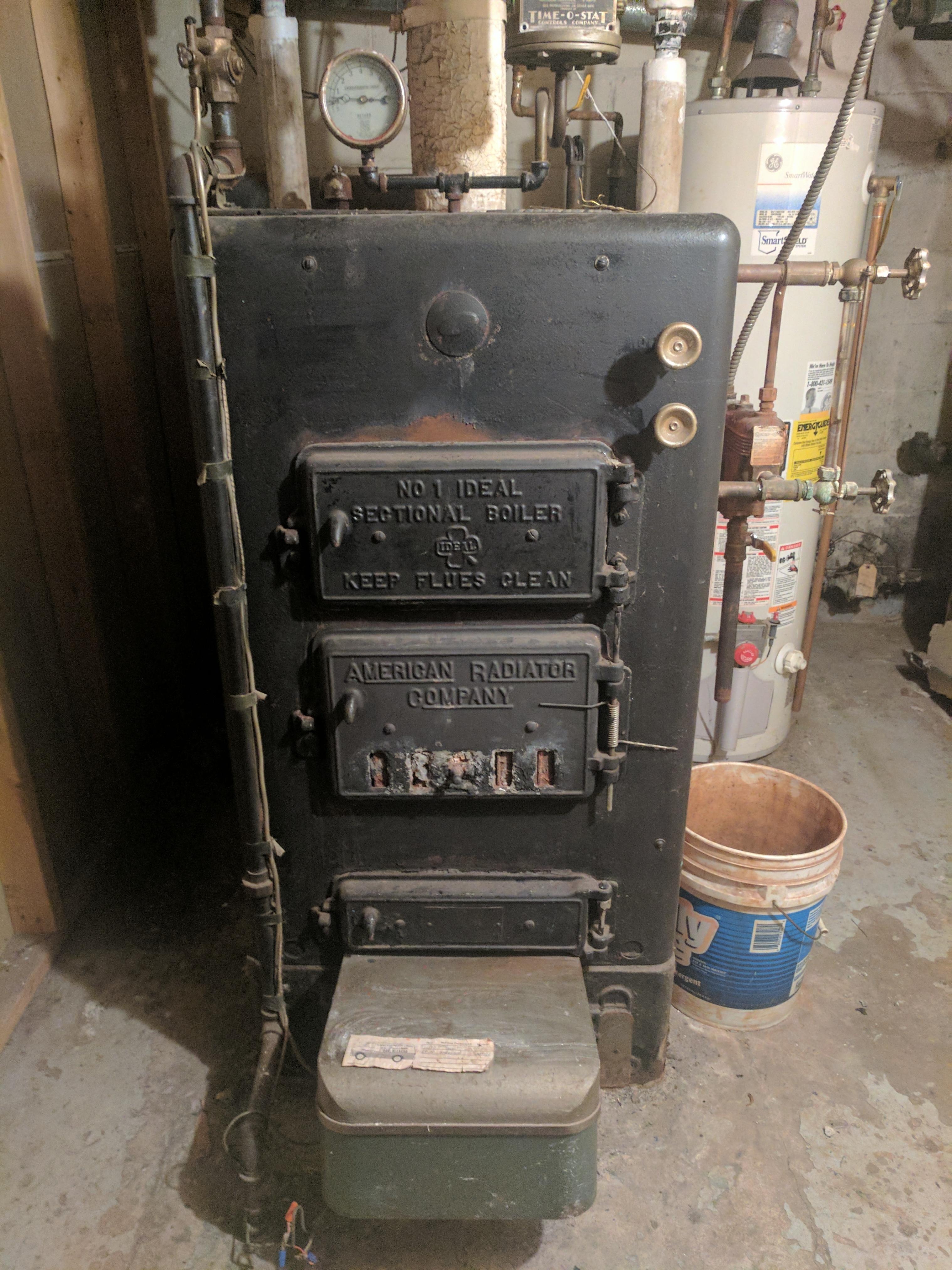 Radiator Not Getting Hot >> Tips for 1920s American Radiator steam boiler? — Heating ...