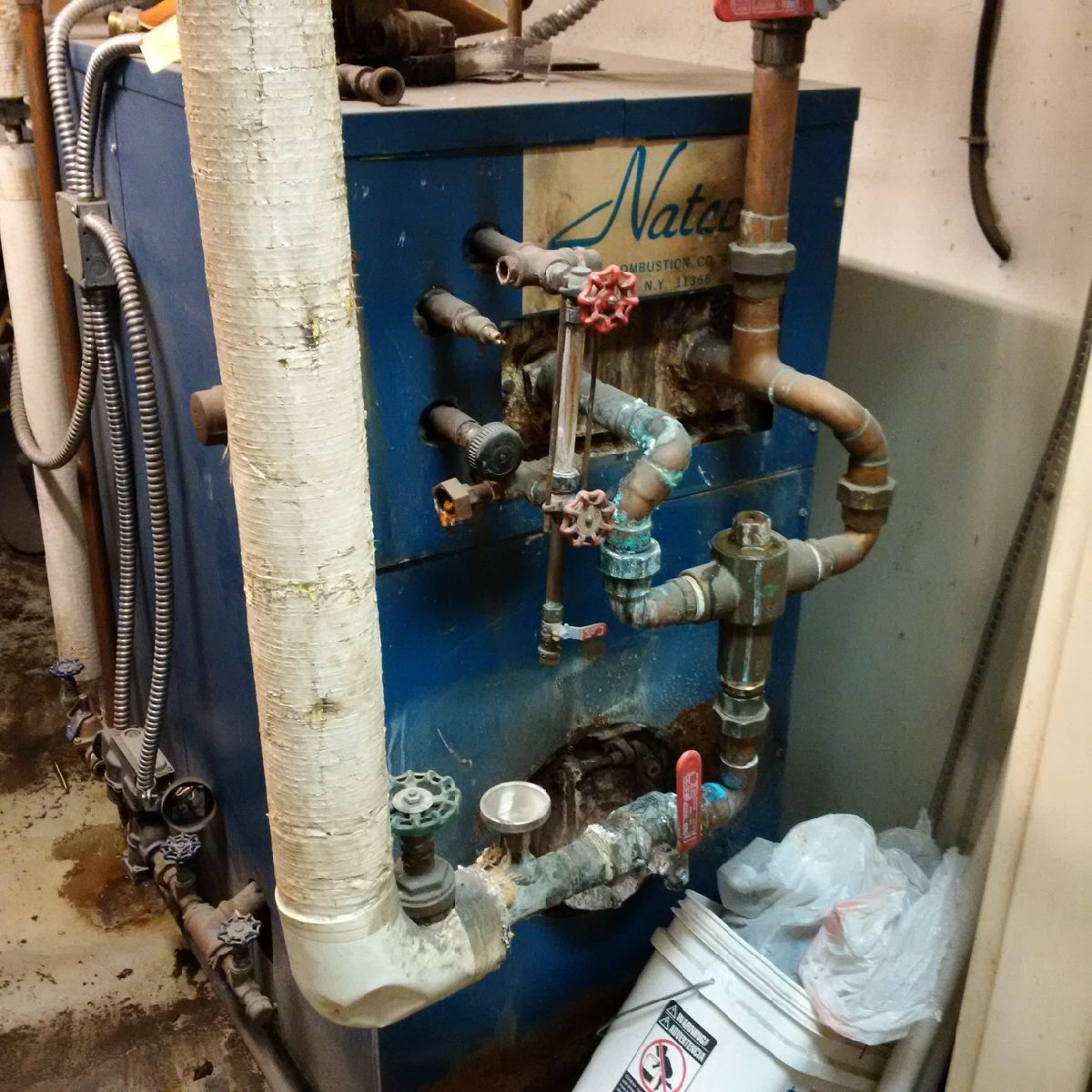 Laundromat - Replacing Two Boilers with Two Lochinvar