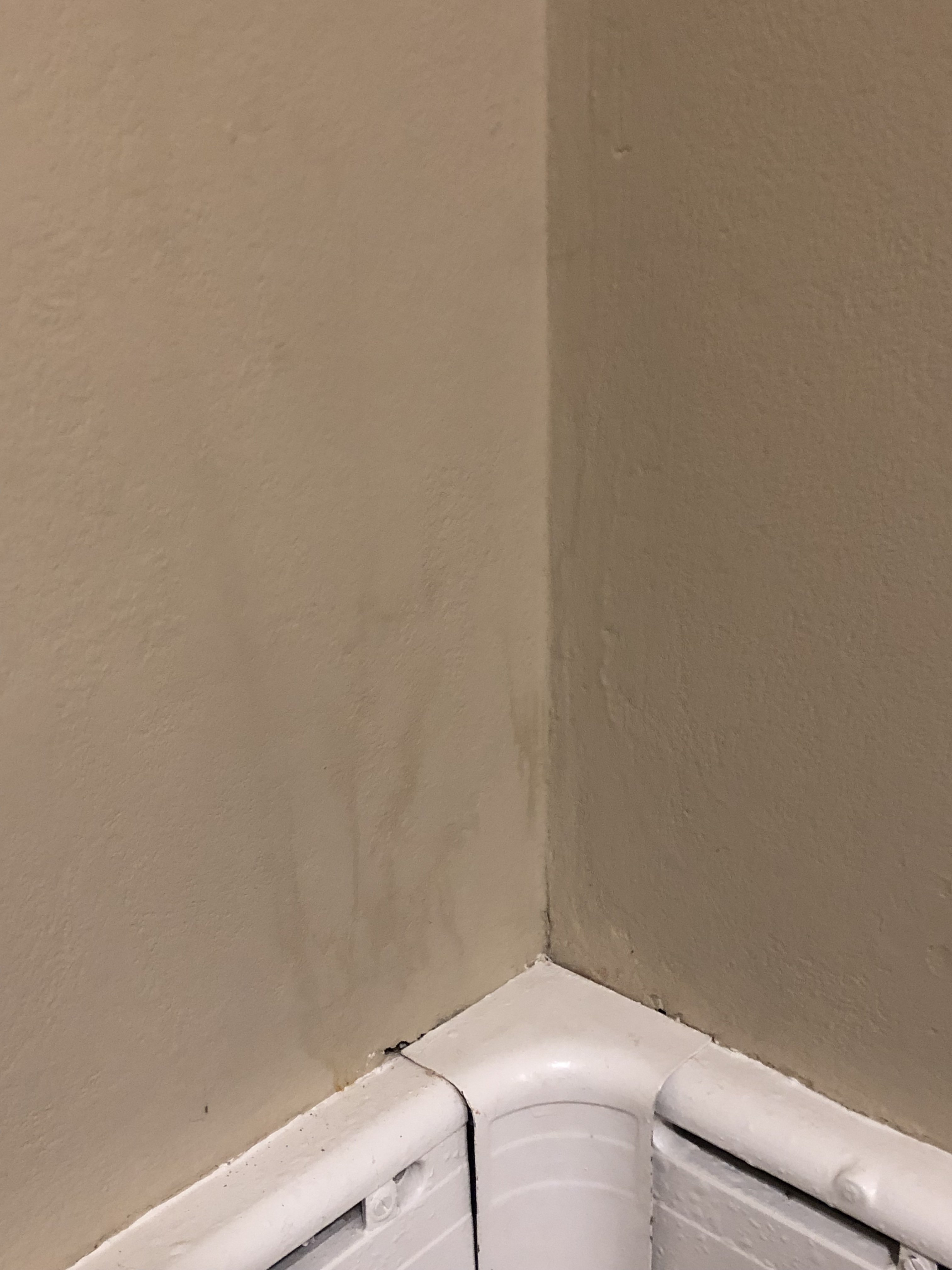 Old Cast Iron Baseboard Radiators - loads of noise and steam