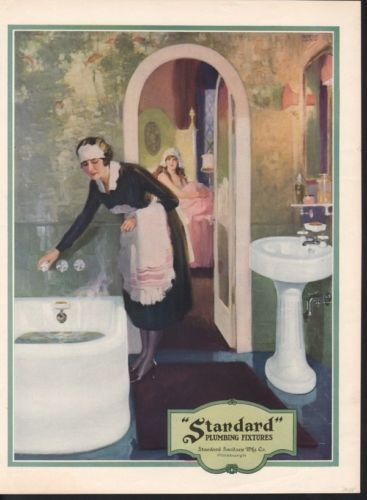 vintage 1900s ad for American Standard