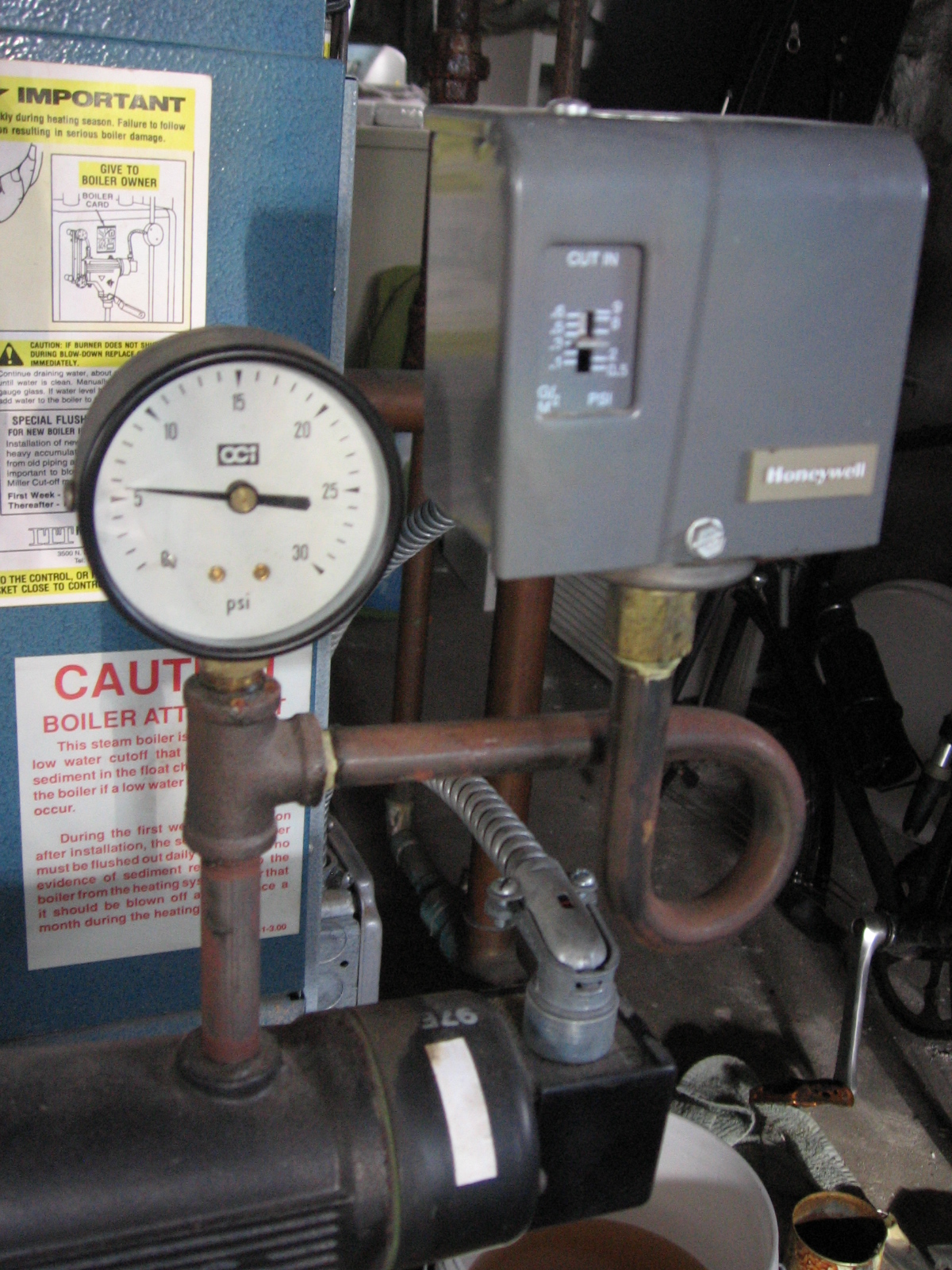 Utica Boiler Shuts Off  U2014 Heating Help  The Wall