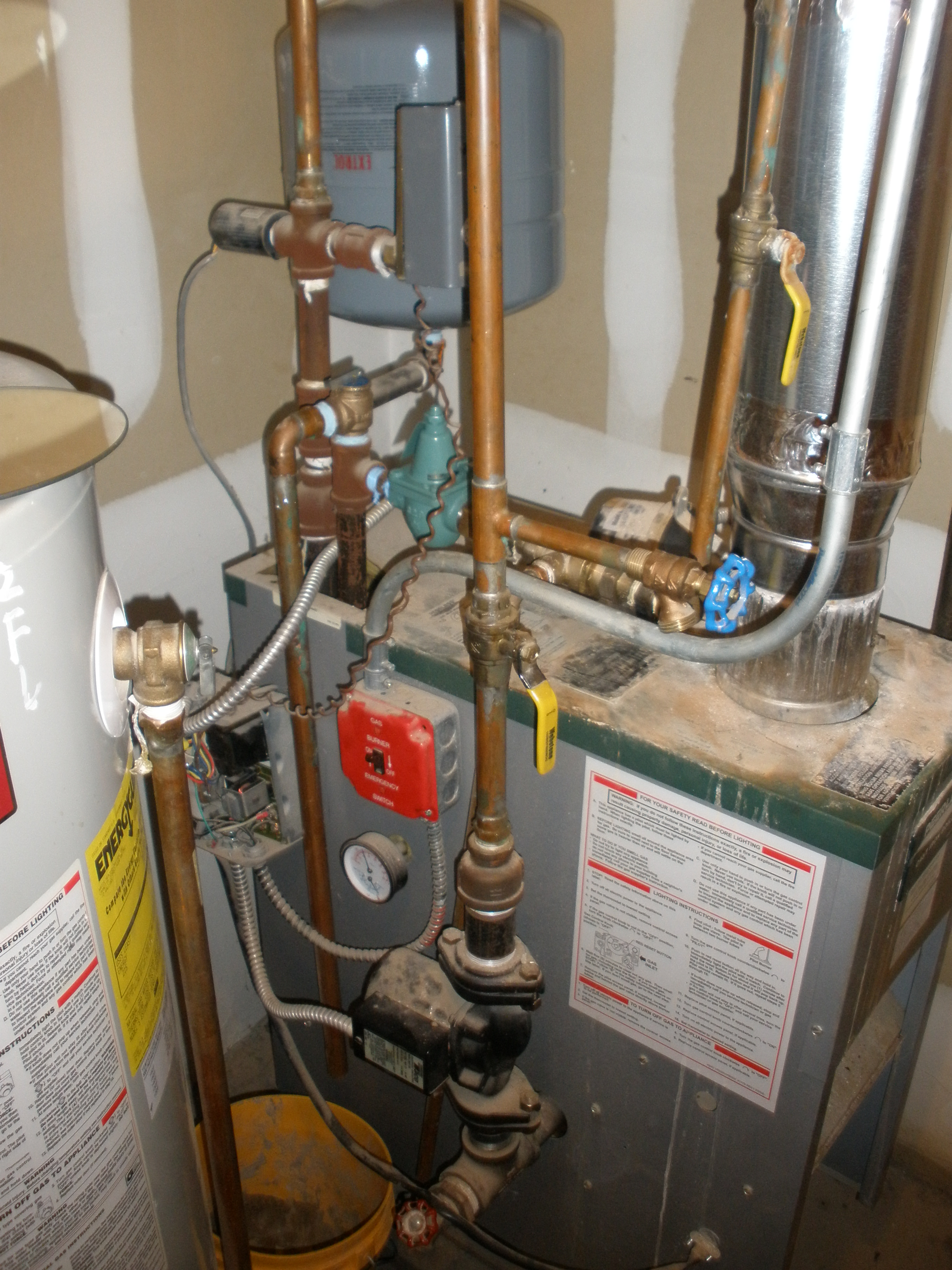 Spirovent Install Heating Help The Wall