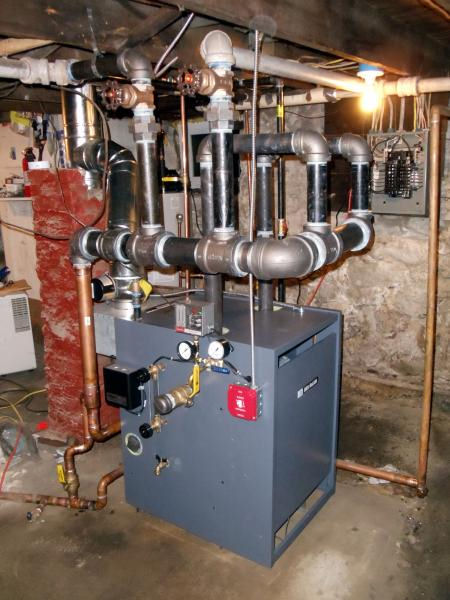 Steam Boiler: Weil Mclain Steam Boiler