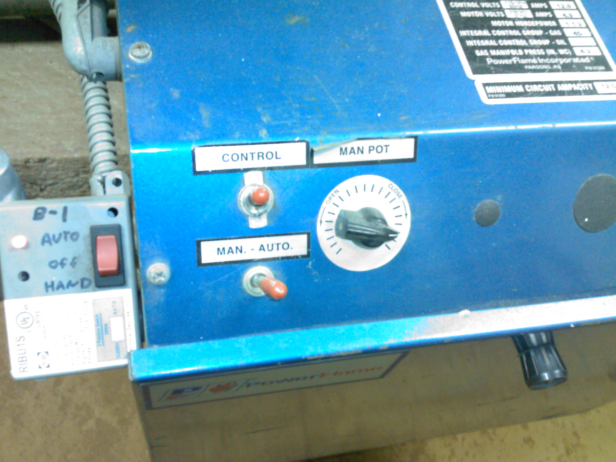 Steam Boiler: Steam Boiler Vaporstat