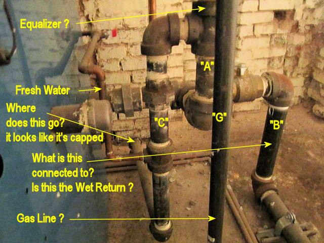 Burnham In11 Header Question Heating Help The Wall. Hartford Loop 1a 0b. Ford. Steam Hartford Loop Diagram At Scoala.co