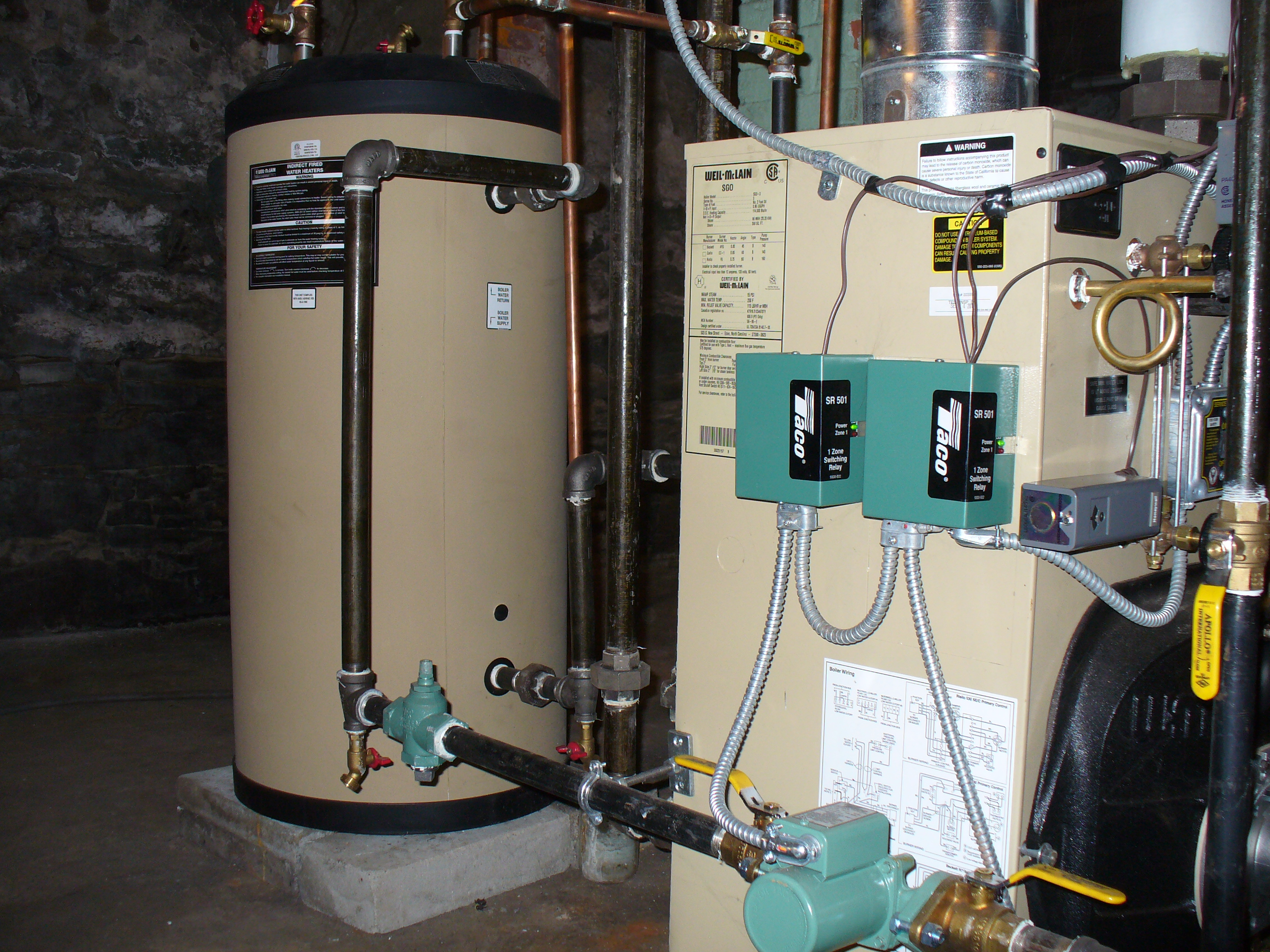 indirect hot water noisy, and cold (lukewarm)-help! — Heating Help ...