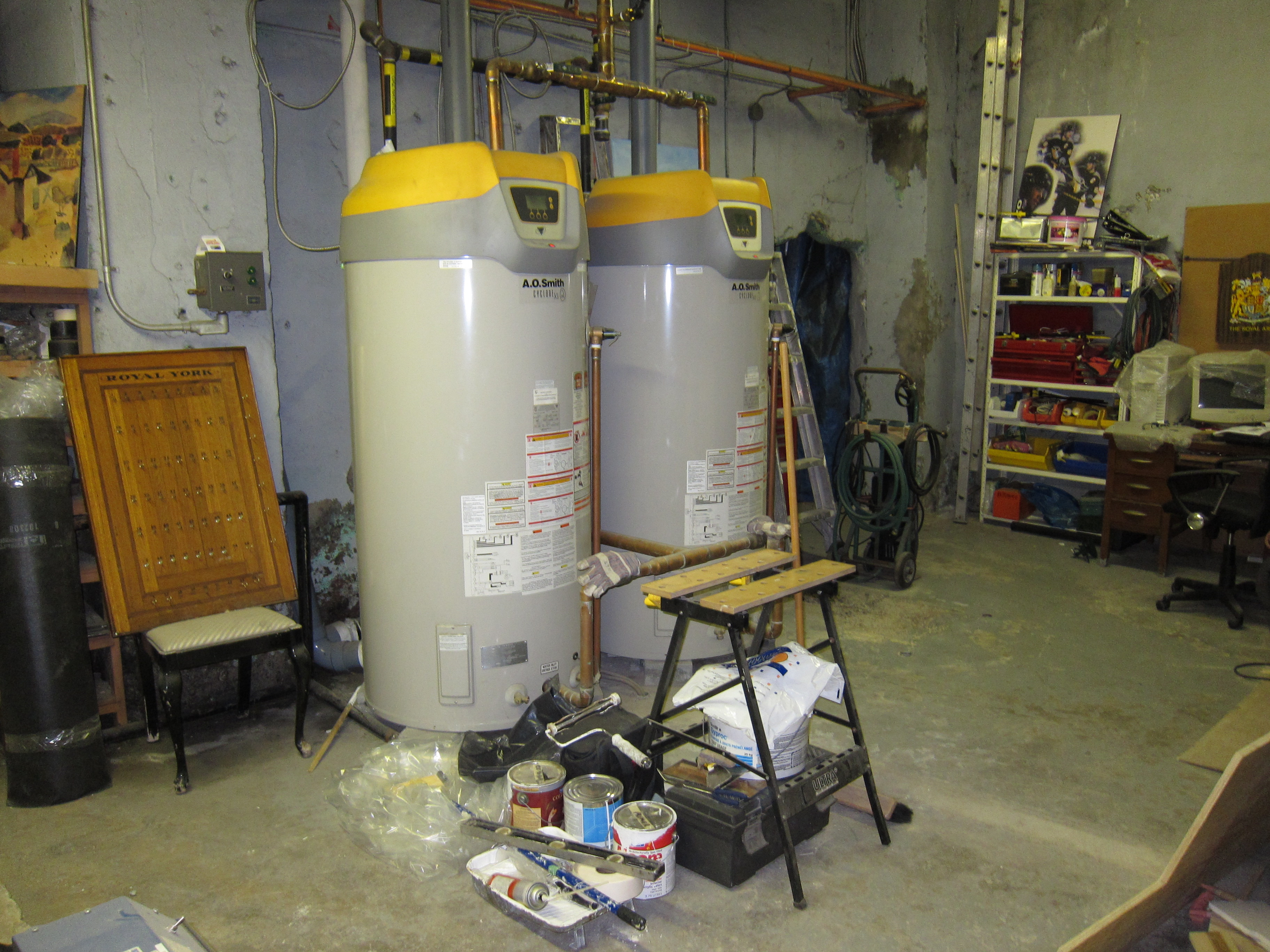 A O Smith Cyclone Xi Field Performance Heating Help