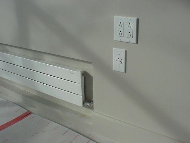 Recessed Radiators Heating Help The Wall