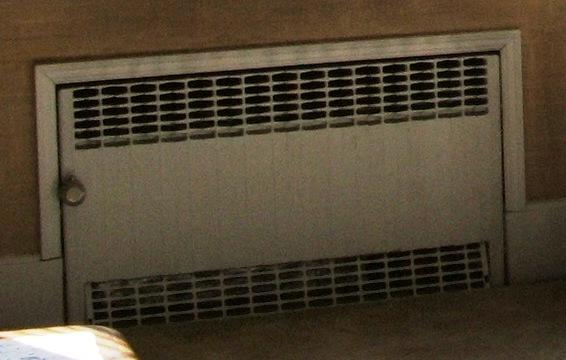 Refinishing Recessed Steam Radiators Heating Help The Wall