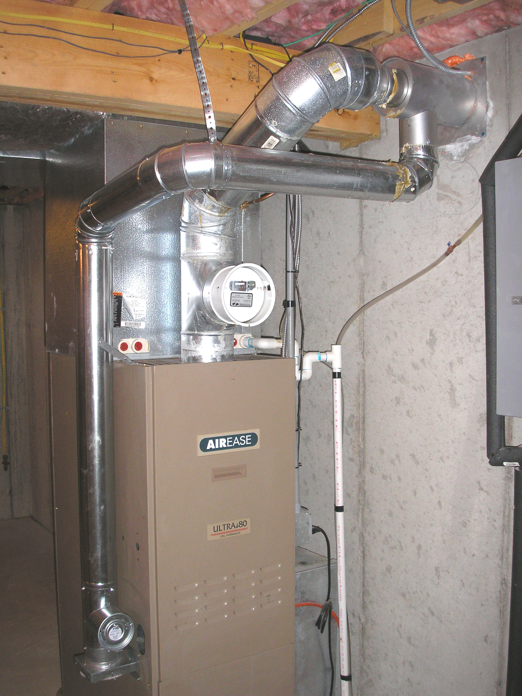 Power Vent Condensation Problems Heating Help The Wall