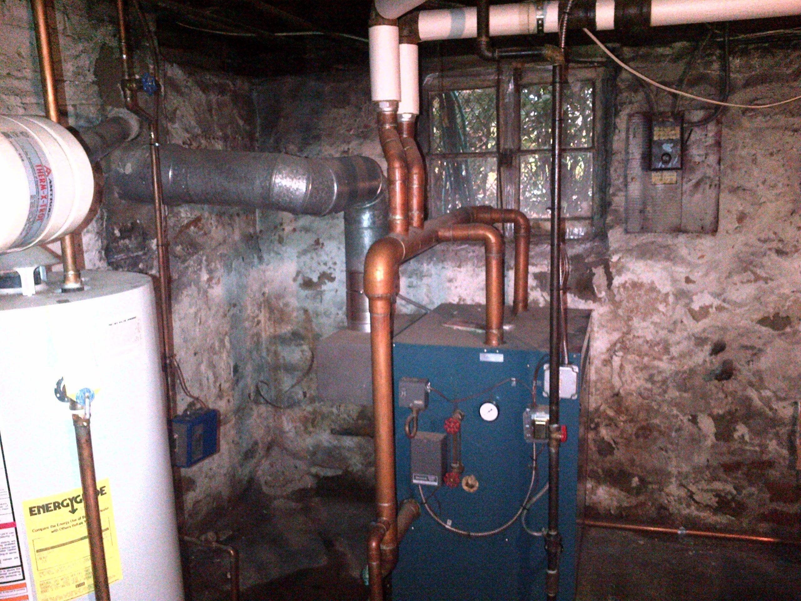 Burnham Gas Boiler Heating Help The Wall