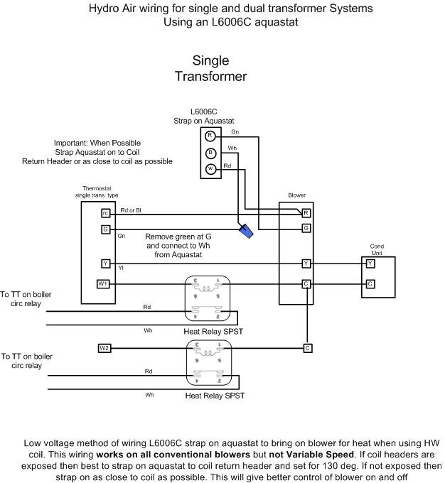 wiring diagram for a hydro air system   37 wiring diagram