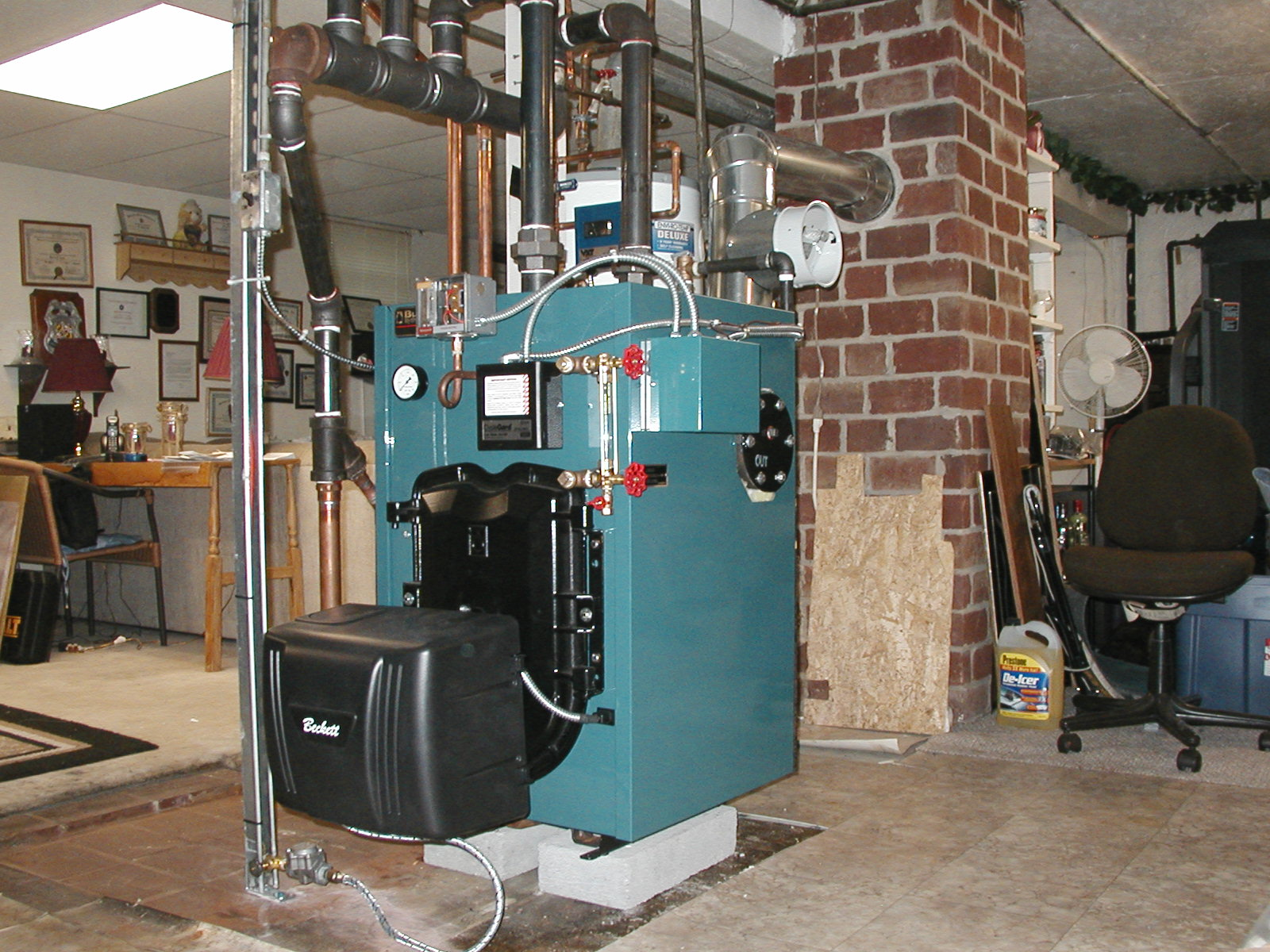 Furnace to boiler conversion in AK — Heating Help: The Wall