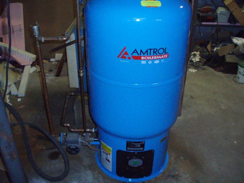 Water heater manual: Amtrol boilermate problems