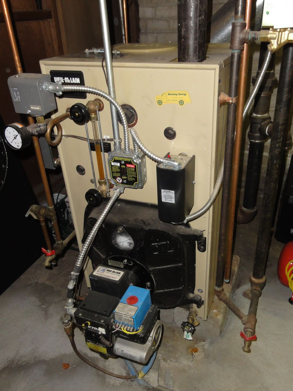 Weil McLain SGO Boiler Questions , Maintenance — Heating Help: The Wall