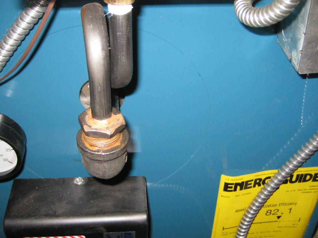New Burnham Steam boiler Help — Heating Help The Wall