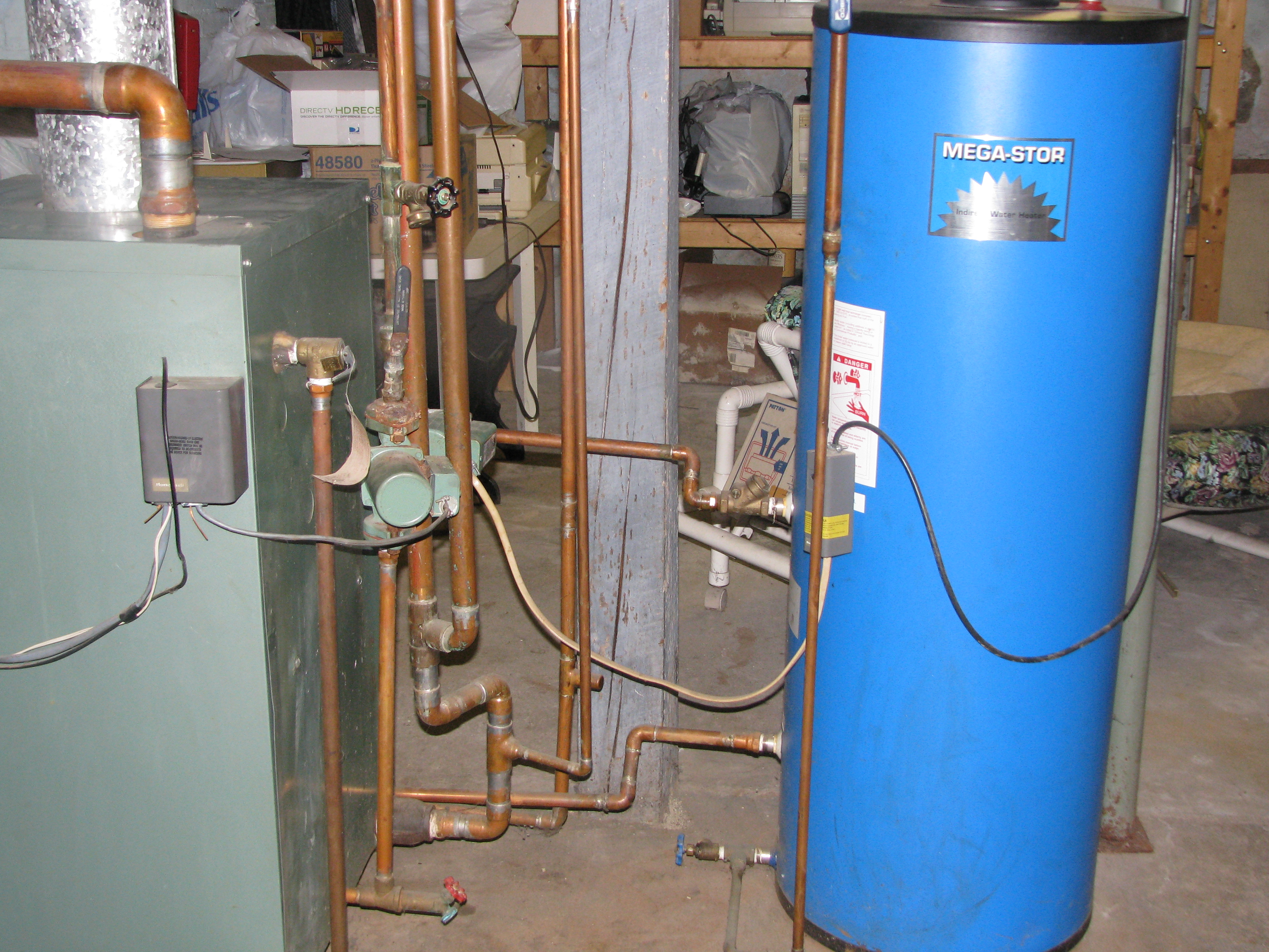 Hot Water Heater Problems >> scalding water from indirect water heater on a steam ...