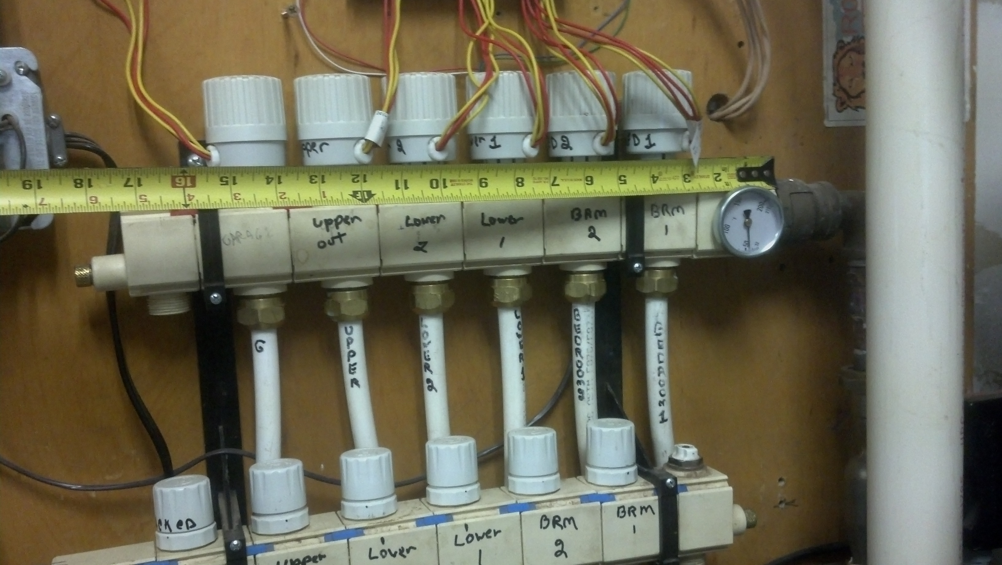 Radiant Heat Manifolds And Zone Controls Heating Help
