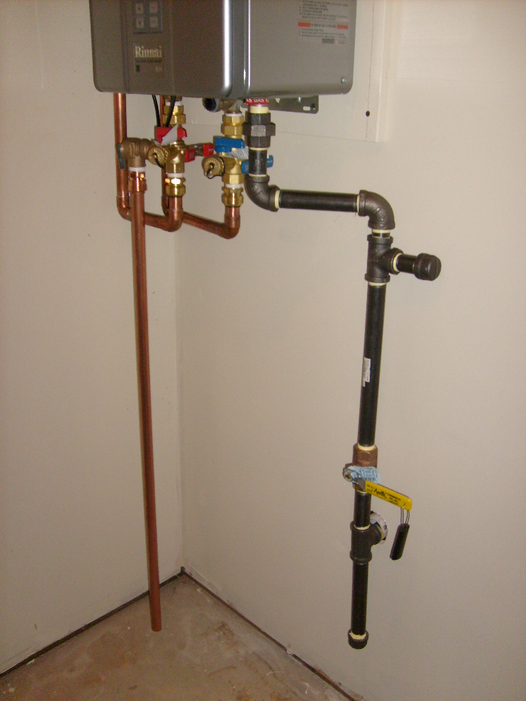 2LB system for Tankless Water Heater And Fireplace ...