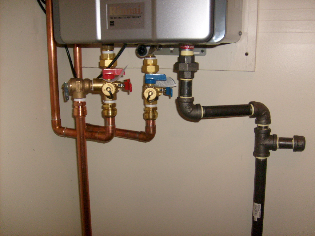 2lb System For Tankless Water Heater And Fireplace