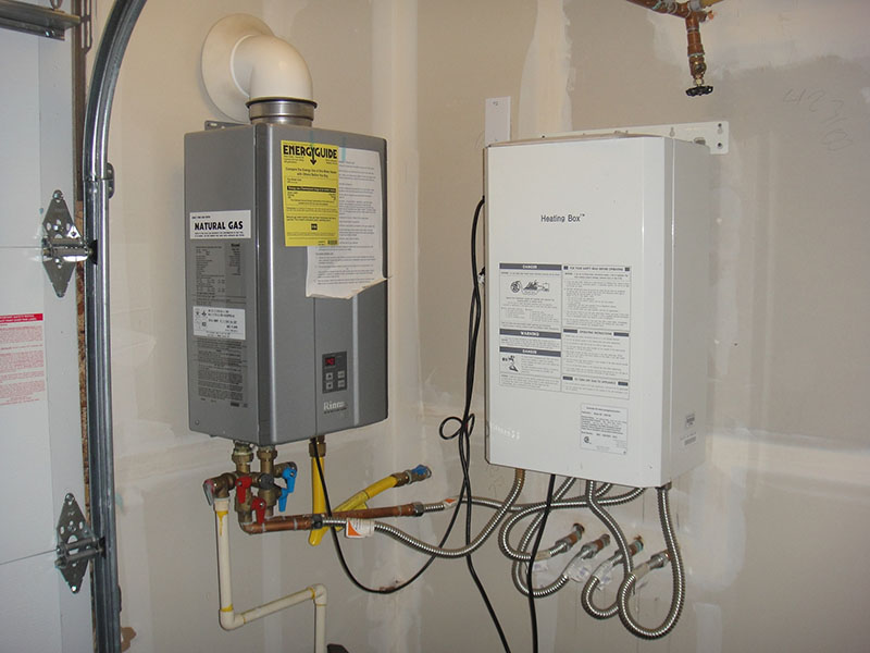Rinnai tankless water heater hook up