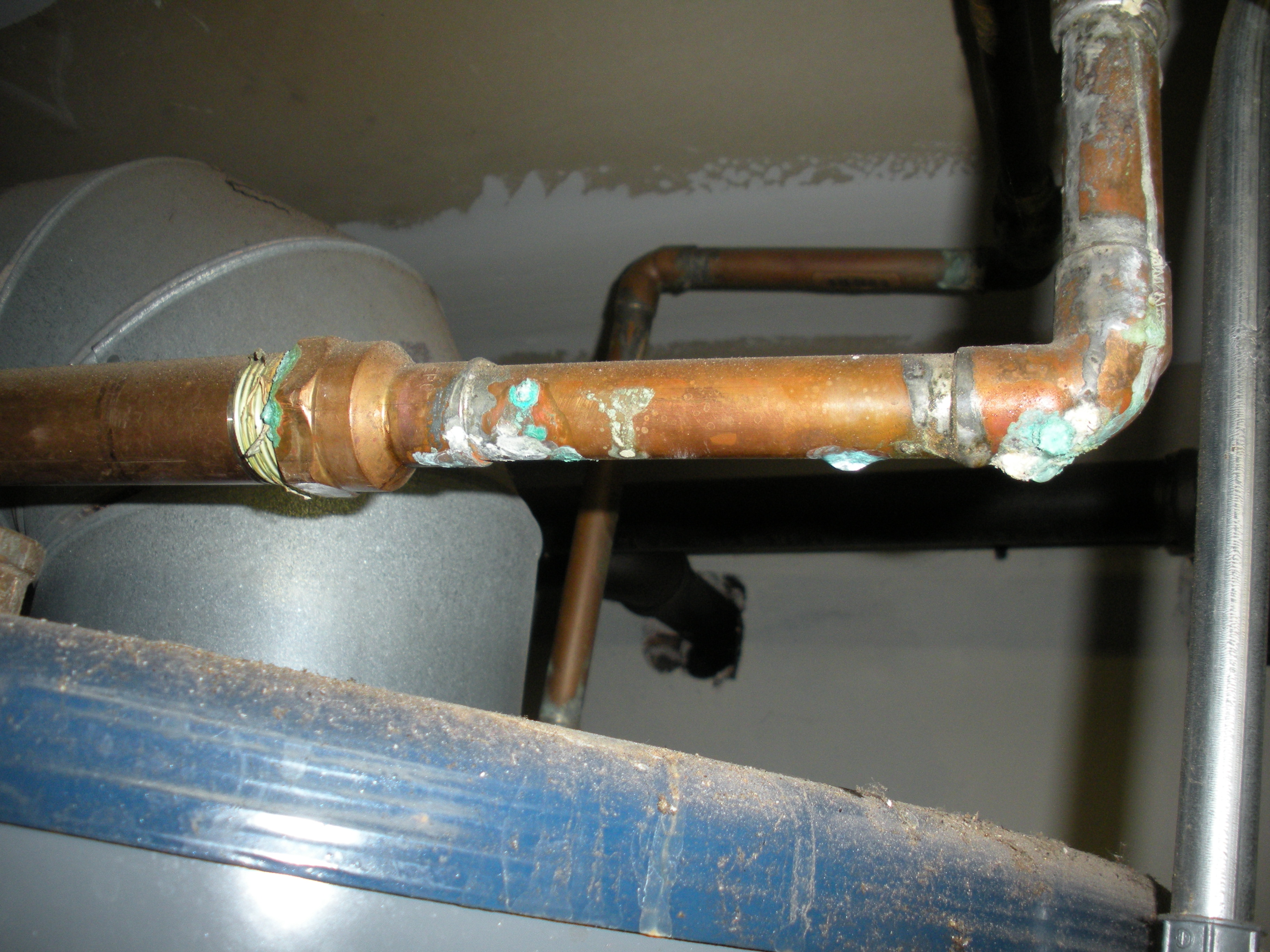 Copper Pipe Pitting Heating Help The Wall