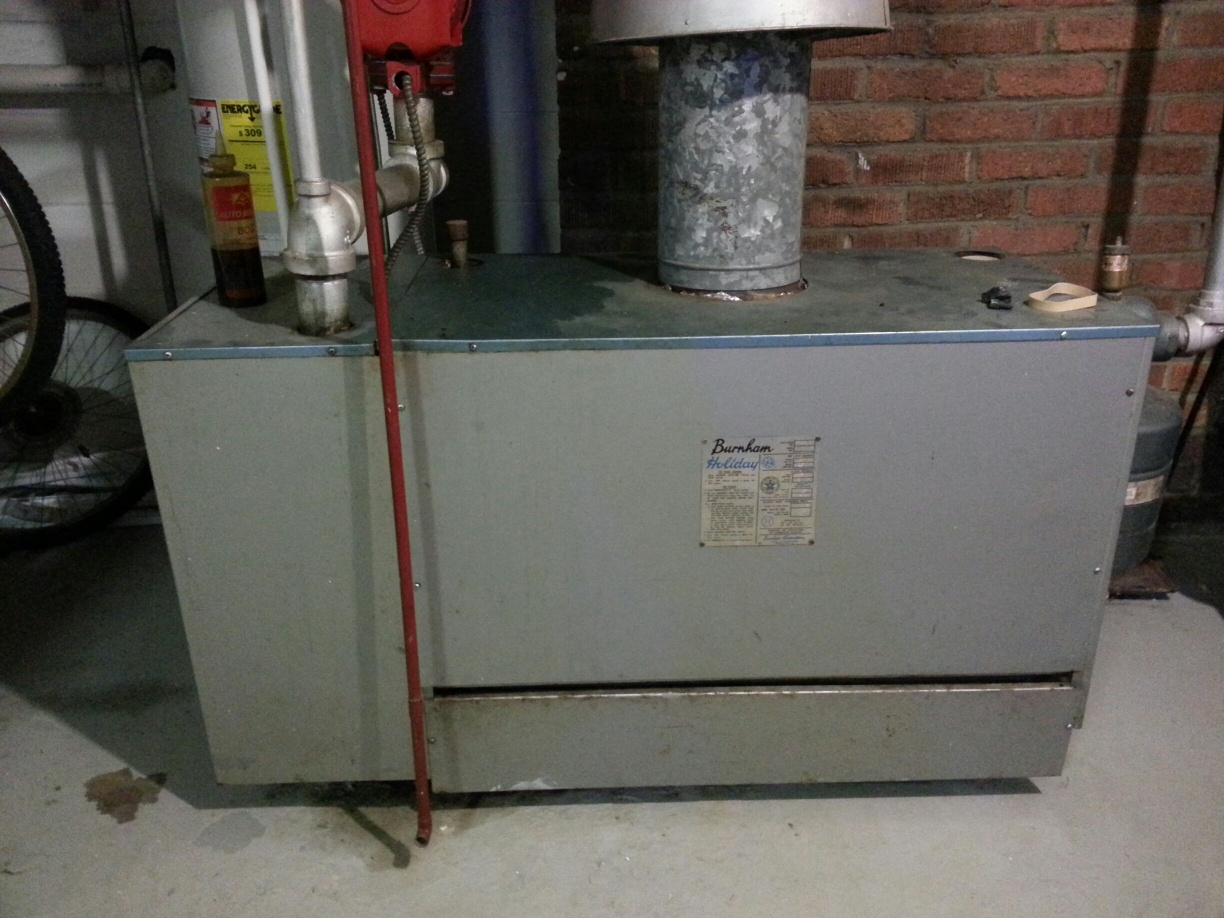 Need help identifying old Burnham Holiday Series 1 Boiler — Heating ...