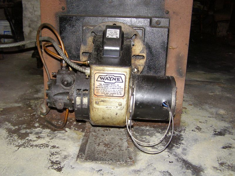 Maintenance Of Wayne Flame Retention Oil Burner Heating Help The Wall