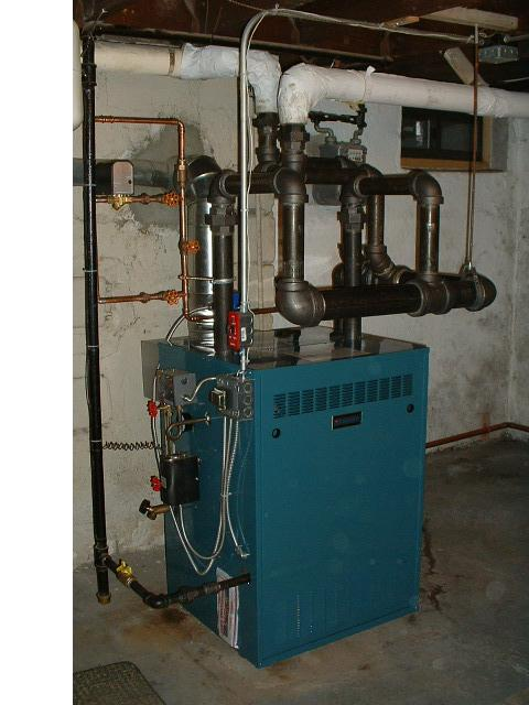 Drop Header on a Steam Boiler — Heating Help: The Wall