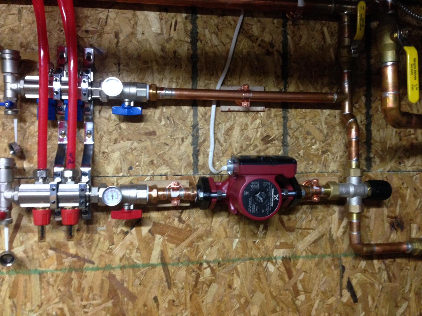 Mixing Valve Radiant Floor Heating